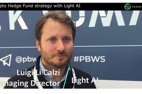 Insights about a Crypto Hedge Fund strategy with Light AI