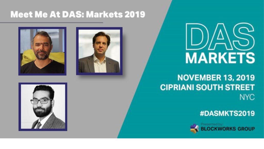 Rencontrons-nous à DAS Markets à New-York!