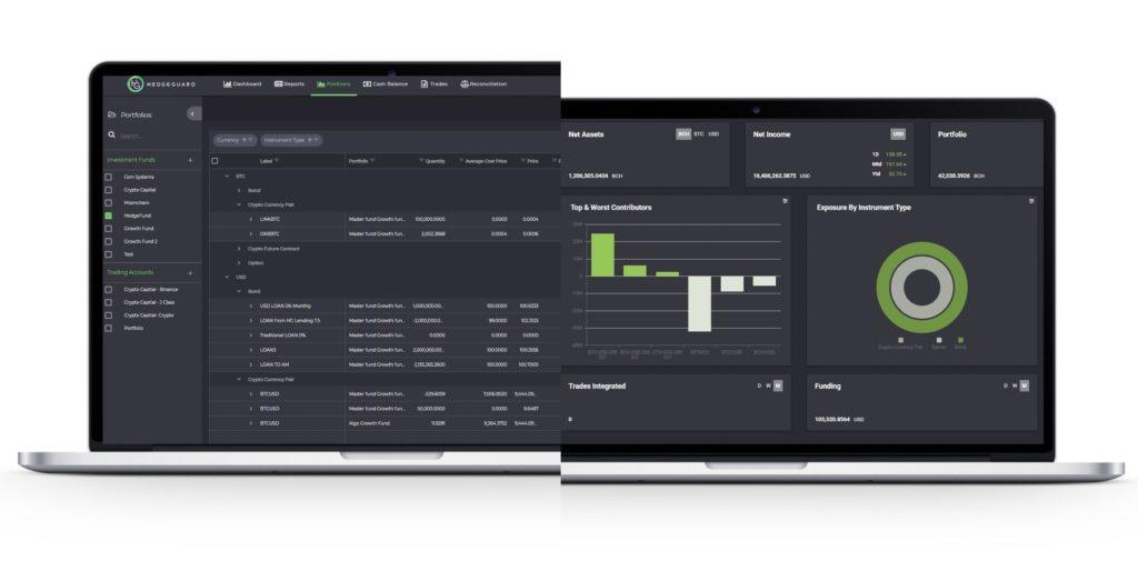 crypto portfolio management system: Hedgeguard